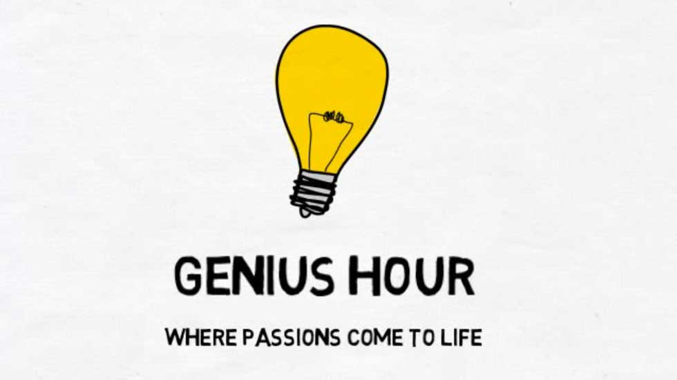 Genius Hour Professional Development Instructional Techology